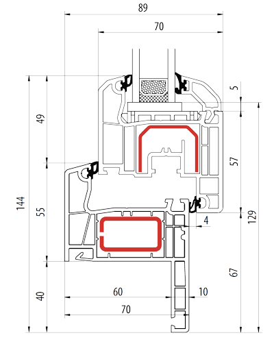 scheda-tecnica-ideal-4000-soft-line-anta-dritta